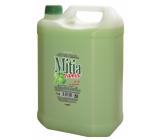 Mitia Family Green Apple liquid soap refill 5 l