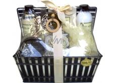 Raphael Rosalee Cosmetics Green tea shower gel 260 ml + body milk 260 ml + body spray 100 ml + body scrub 100 ml + bath salt 150 g + toilet soap 4x4 g + massage washcloth, cosmetic set