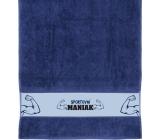 Albi Towel Sports maniac blue 90 x 50 cm