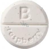 Bomb Cosmetics Malina - Raspberry aromaterapie tableta do sprchy 1 kus