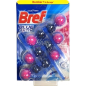 Bref Blue Aktiv Fresh Flowers WC block 3 x 50 g, megapack