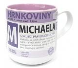 Nekupto Hrnkoviny Mug with the name of Michael 0.4 liter