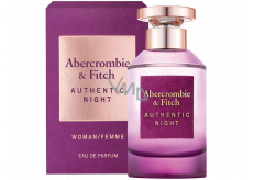 Abercrombie & Fitch Authentic Night Woman Eau de Parfum for Women 50 ml