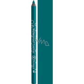 Dermacol Waterproof Eyeliner waterproof eyeliner 05 dark turquoise 1.4 g