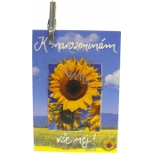 Nekupto Gift Card Happy Birthday! 7 x 5,5 cm 1 piece