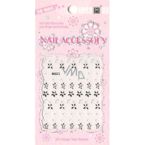 Nail Accessory 3D nail stickers 1 sheet 10100 BG21