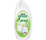 Real Green Clean prací gel na bílé i barevné prádlo 1 l