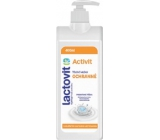 Lactovit Activit body lotion with active protection with a 400 ml dispenser