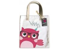 Ditipo Owl fashion textile bag 35 x 38 cm