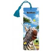 Prime3D bookmark - Zebra 5.7 x 15.3 cm