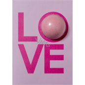 Bomb Cosmetics LOVE card Sparkling greeting card with ballistic 40 g