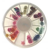 Nail Accessory Nail decorations flowers colored BH 118
