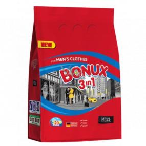 Bonux For Men Vibrant Musk 3in1 Washing Powder For Men 20 doses of 1.5 kg
