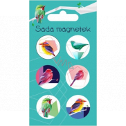 Albi Set of Magnets Birds 6 pieces