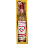 Bohemia Gifts Chardonnay All the best 40 white gift wine 750 ml