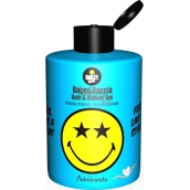 Smiley World Blue bath and shower gel for children 300 ml
