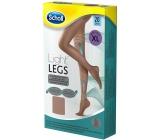 Scholl Light Legs Kompresní punčochové kalhoty XL hnědé 20 den pomáhají zabraňovat pocitu únavy nohou a snižují pocit těžkých nohou