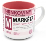 Nekupto Pots A mug named Markéta 0.4 liters