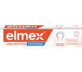 Elmex Caries Protection Whitening with whitening effect, protection against tooth decay, toothpaste with aminfluoride 75 ml