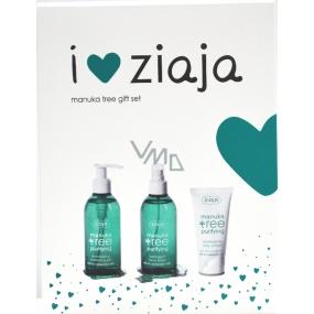 Ziaja Manuka Tree Day Cream 50 ml + washing gel 200 ml + astringent tonic 200 ml, cosmetic set