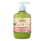 Green Pharmacy tek.krém. soap of almonds and oats 460ml - softening 7845