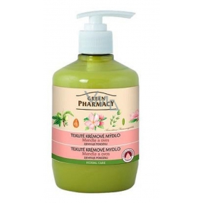 Green Pharmacy Almonds and Oats Liquid Cream Softening Soap 460 ml
