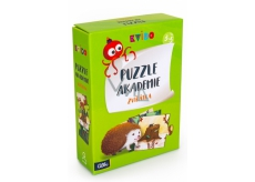 Albi Quiz Puzzle Academy Animals recommended age 2+
