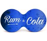 Nekupto Cork coaster Rum and cola 19 x 9,5 x 0,3 cm