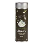 English Tea Shop Bio Japanese green tea Sencha 15 pieces of biodegradable pyramids of tea in a recyclable tin jar 30 g, gift set