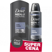 Dove Men + Care Cool Fresh shower gel 250 ml + antiperspirant spray for men 150 ml, duopack