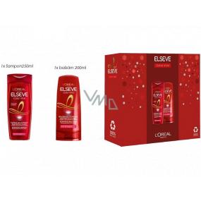 Loreal Paris Elseve Color Vive hair shampoo 250 ml + hair balm 200 ml, cosmetic set