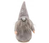 Leprechaun plush gray 12 cm for standing 1 piece