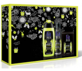 Fa Men Energy Boost shower gel 250 ml + deodorant spray 150 ml + aftershave 100 ml, cosmetic set