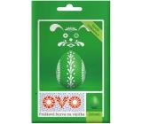 Ovo Green powder color 1 sachet (5 g) = 10 - 15 eggs