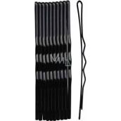 Duko Hair clips black 6 cm 10 pieces 526B