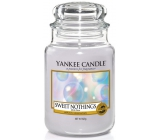 Yankee Candle Sweet Nothings - Sweet nothing scented candle Classic large glass 623 g