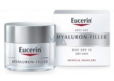 Eucerin Hyaluron-Filler SPF15 and UVA Daily Filling Cream Anti-Wrinkle Dry Skin 50 ml