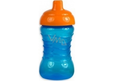 First Steps baby bottle non-flowing blue 310 ml