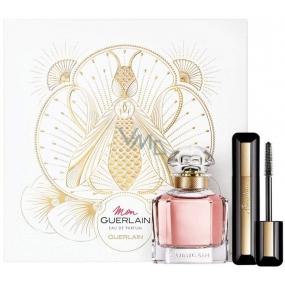 Guerlain Mon Guerlain Eau de Parfum for Women 50 ml + Cils D Enfer So Volume 01 Noir Black 8.5 ml, gift set