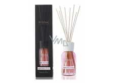 Millefiori Milano Natural Magnolia Blossom & Wood - Magnolia flowers and wood Diffuser 250 ml + 8 stalks 30 cm long to medium sized rooms lasts min. 3 months