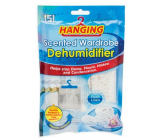 151 Hanging Freshly washed laundry closet dehumidifier with a scent of 180 g
