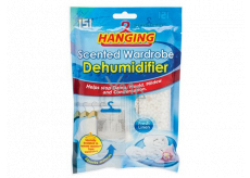 151 Hanging Freshly washed laundry Wardrobe dehumidifier with a scent of 180 g