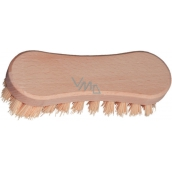 Spokar Hand floor brush, wooden body, corrugated synthetic fibers 4209