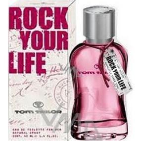 Tom Tailor Rock Your Life for Woman EdT 40 ml eau de toilette Ladies