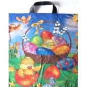 Press Chicken and Eggs Easter plastic bag with 45 x 50 cm ear piece 1 piece