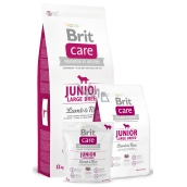 Brit Care Junior Lamb + rice for puppies and young dogs from 3 months to 2,5 years of large breeds over 25 kg 3 kg