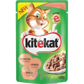 Kitekat with fish in juice 100 g