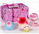 Bomb Cosmetics Beauty ballistic 2 x 160 g + cake 30 g + block 30 g + soap 100 g, cosmetic set