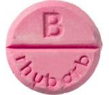 Bomb Cosmetics Rhubarb - Rhubarb aromatherapy shower tablet 1 piece