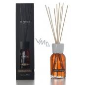 Millefiori Natural Vanilla & Wood Diffuser 7 stalks 25 cm in smaller space lasts 5-6 weeks 100 ml